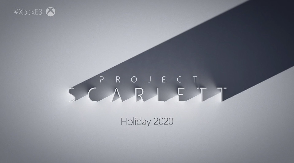 Project Scarlett - новая консоль от Microsoft