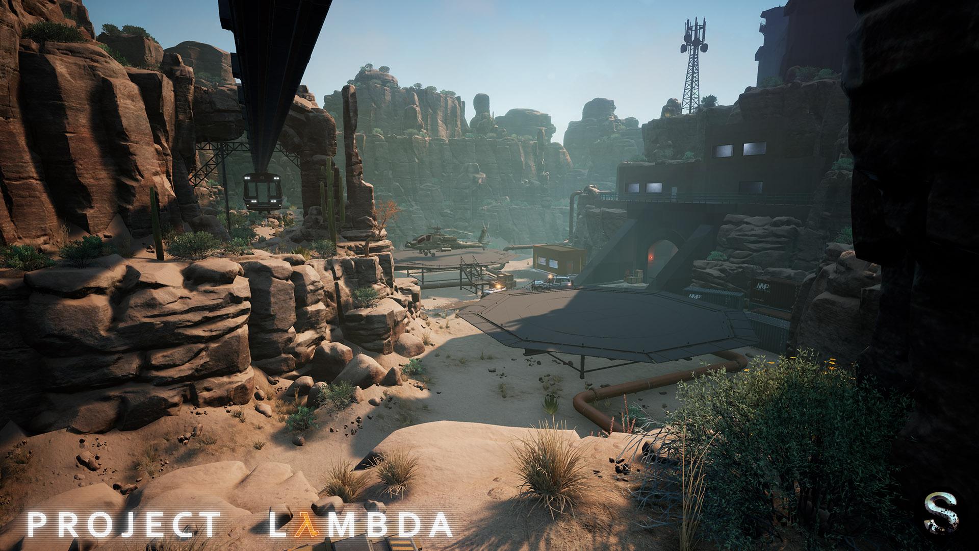 Новые скриншоты Project Lambda - Half-Life на Unreal Engine 4