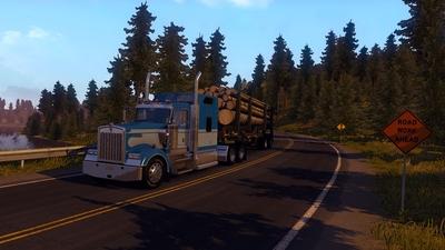 Вышла демоверсия American Truck Simulator