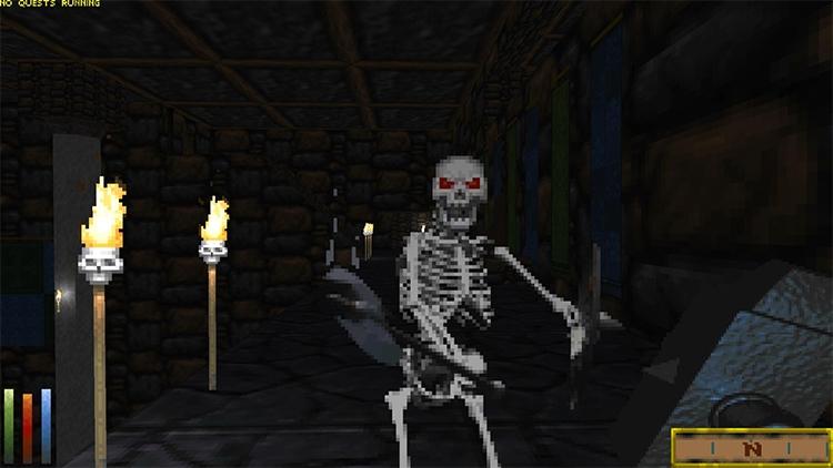 Фанатскую The Elder Scrolls II: Daggerfall на Unity Engine теперь можно пройти полностью