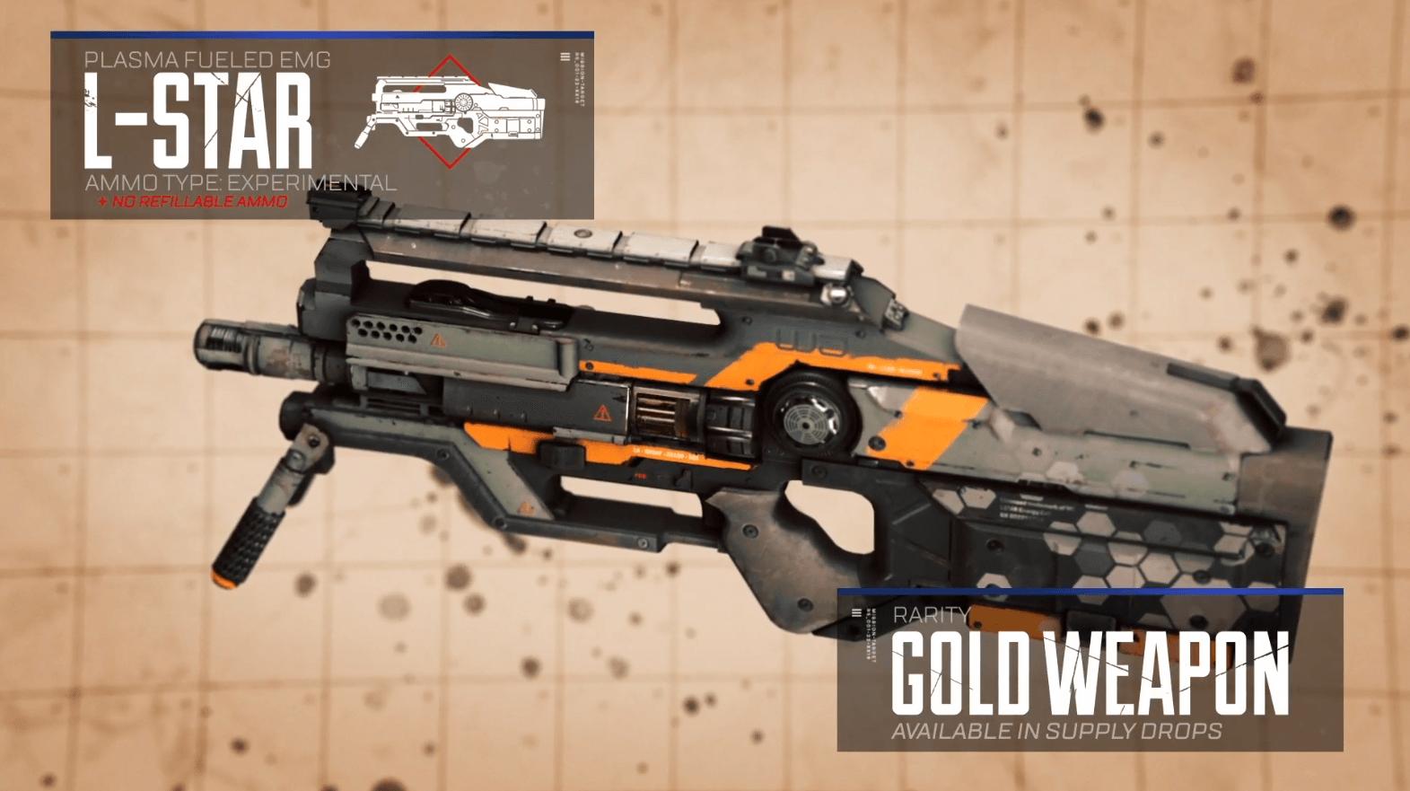 Легендарная винтовкаL-Star