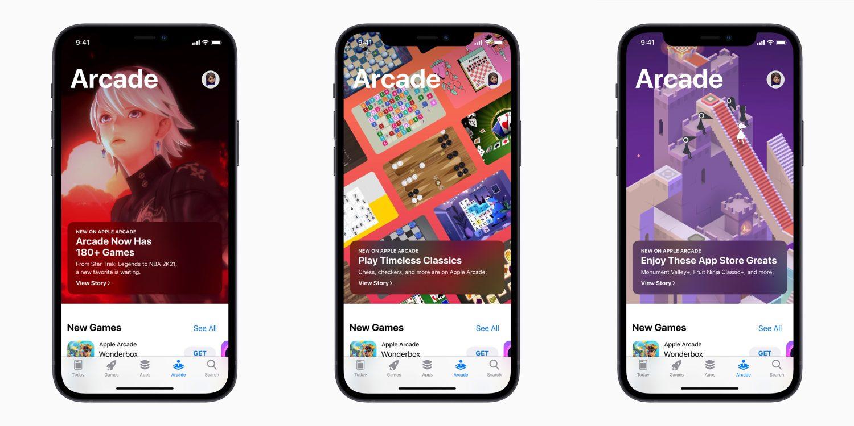 Apple Arcade усиливается хитами App Store