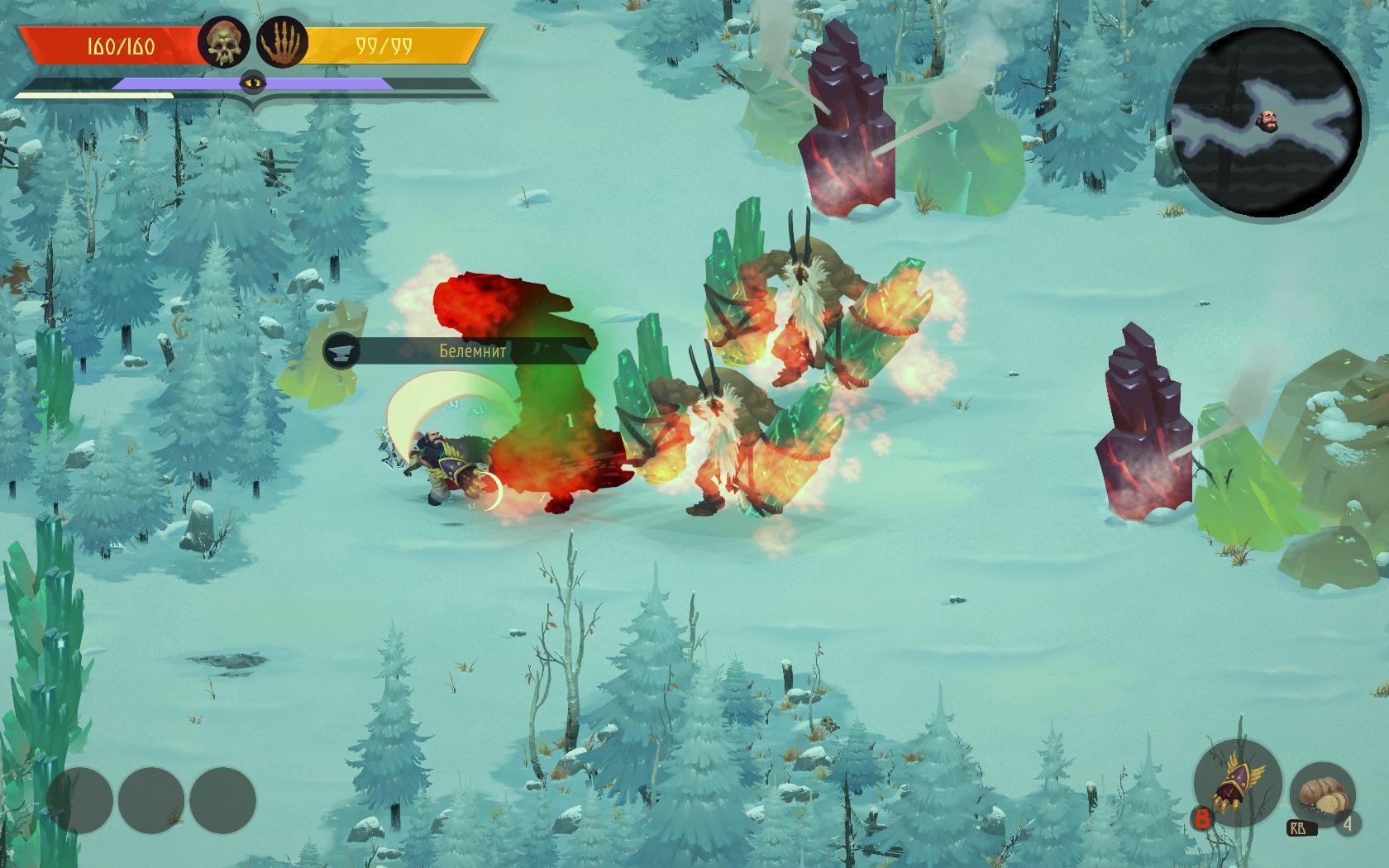 Бои здесь сложные и периодически напоминают Souls-like игры.