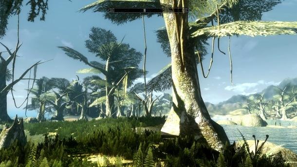 Новый трейлер SkyWind — TES III: Morrowind на движке Skyrim