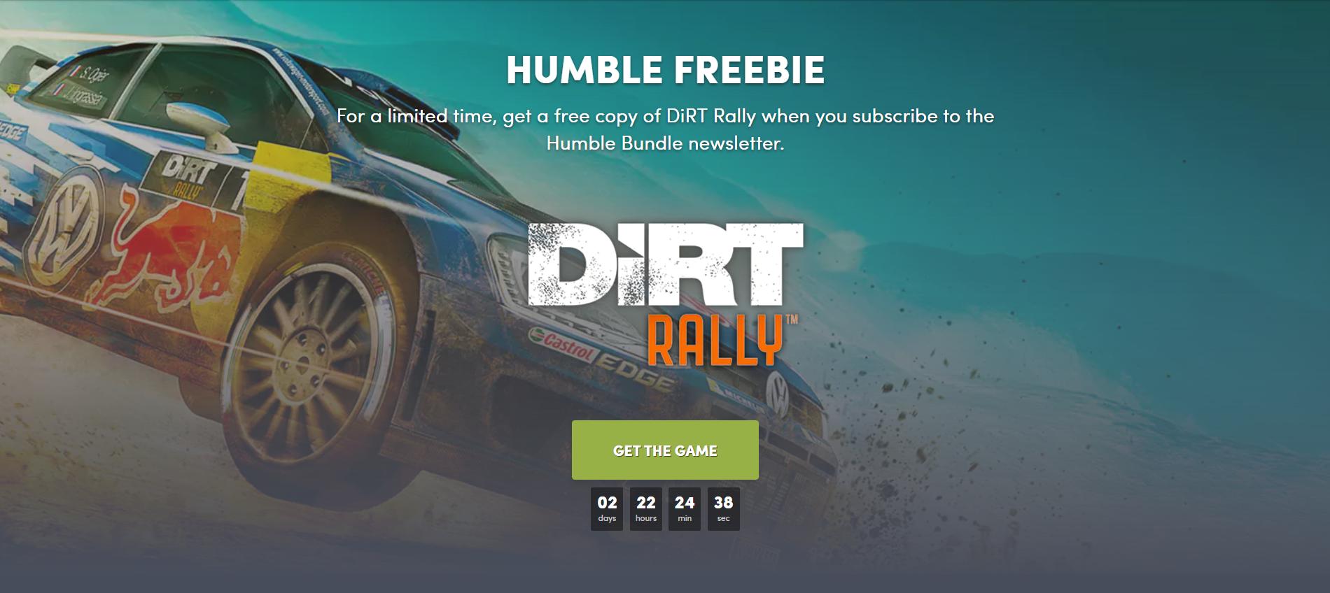 Humble Bundle раздает Dirt Rally