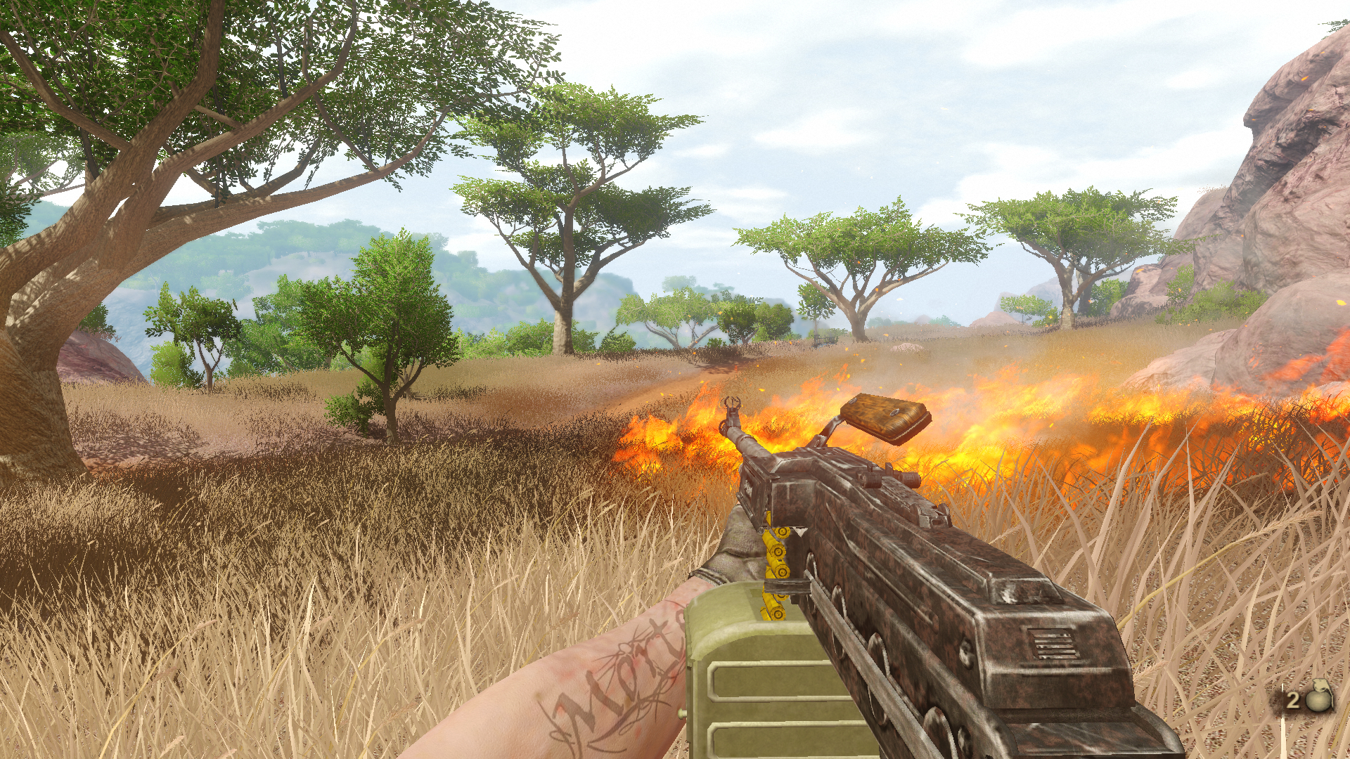 Far Cry 2 + Enb
