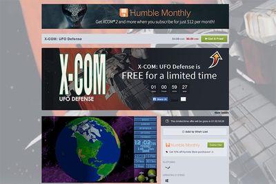 Магазин Humble Store бесплатно раздаёт тактику X-COM: UFO Defense