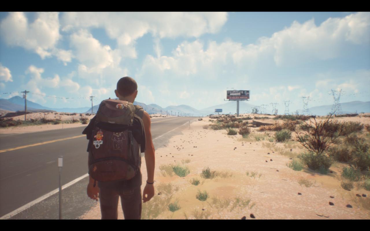 Авторы так хотели показать тяжелое пересечение пустынной местности, что перестарались - вышло очень скучно и уныло.