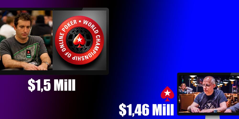 Самые крупные выигрыши в покерных турнирах онлайн за всю историю