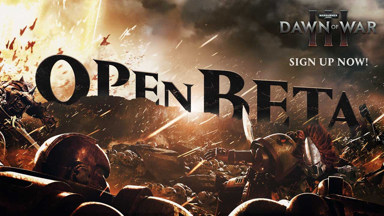 Warhammer 40,000: Dawn of War III – открытое бета-тестирование начнется 21 апреля
