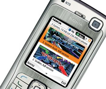 В сети все еще можно найти подобные изображения, демонстрирующие ранний дизайн N-Gage 2.0 - в релизной версии платформы дизайн иной.