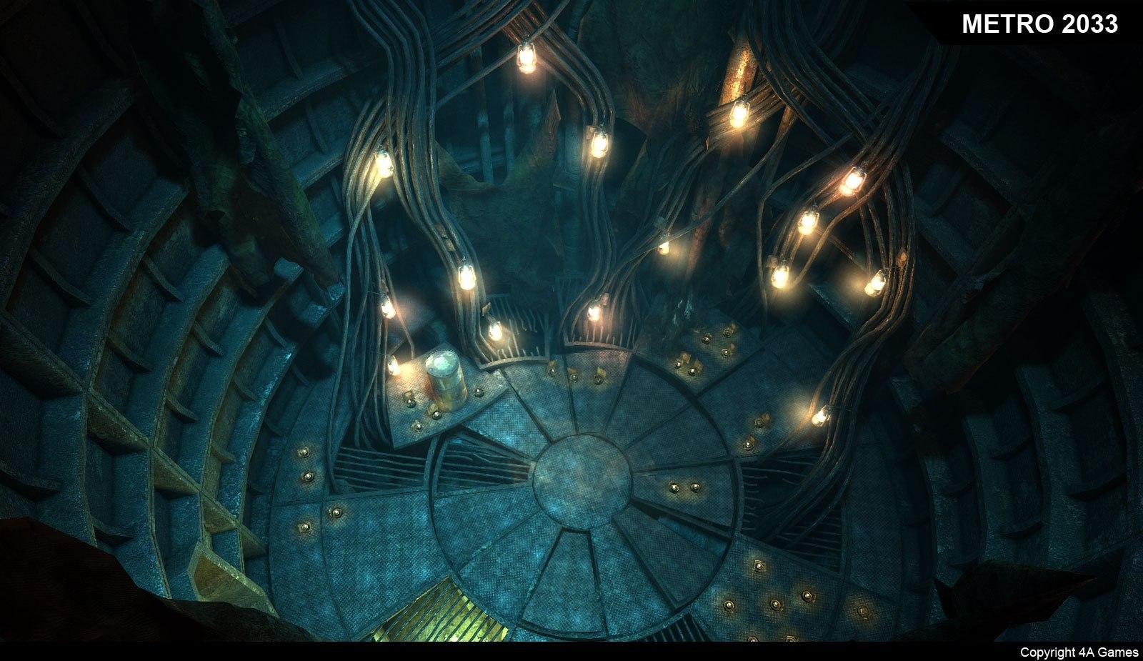 Рабочий материал Metro 2033