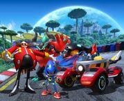 скриншот Team Sonic Racing 0