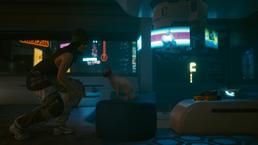 скриншот Cyberpunk 2077 1